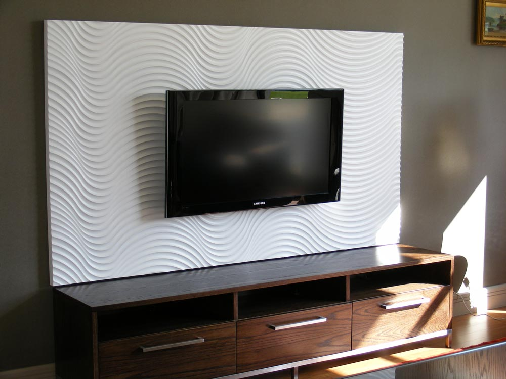 Beautiful Patterned Textured Boards For Use As Wall